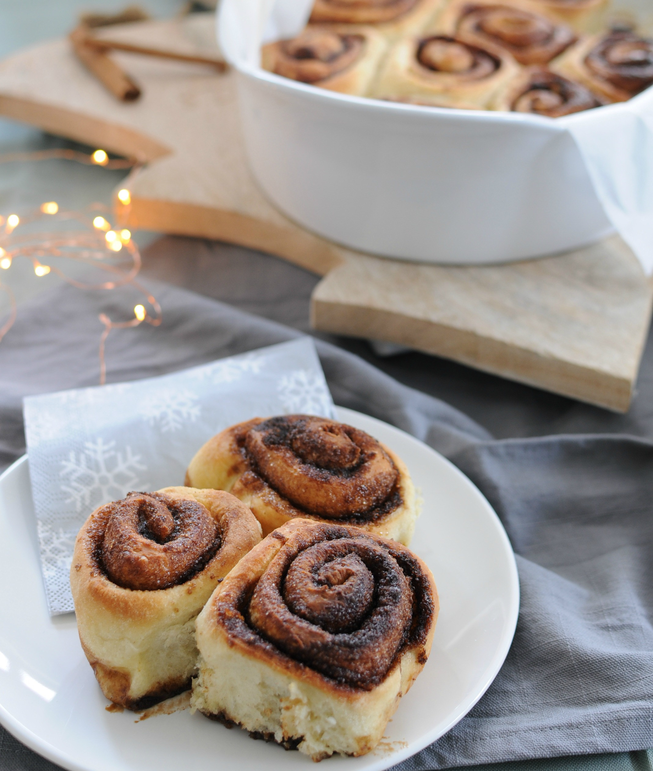 cinnamon rolls recept