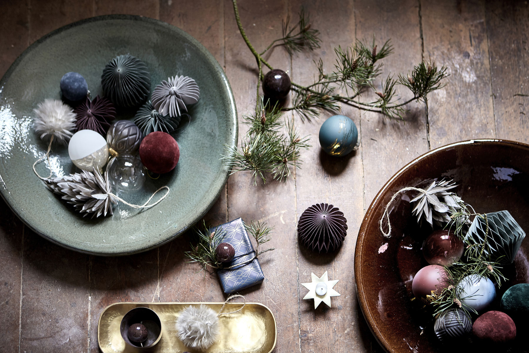 House Doctor Kerstcollectie 2017 Velvet Dark Nordic