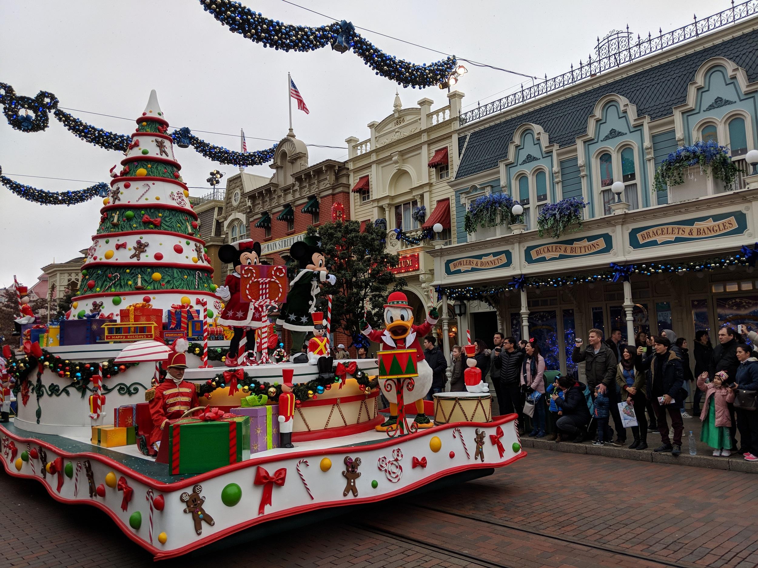 Disneyland Parijs - Kerst 2017 - Kerstparade