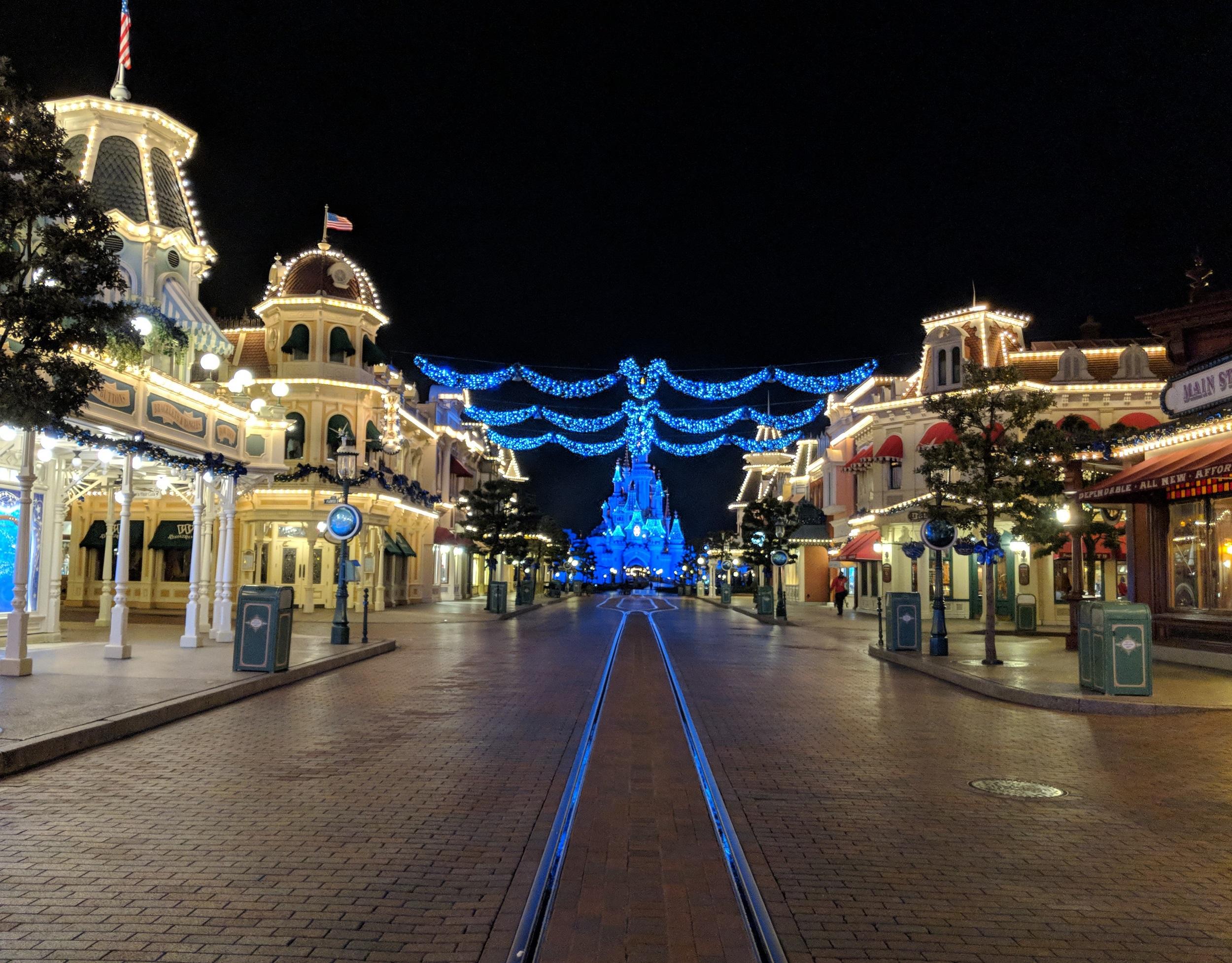 Disneyland Parijs - Kerst 2017 - Main Street USA