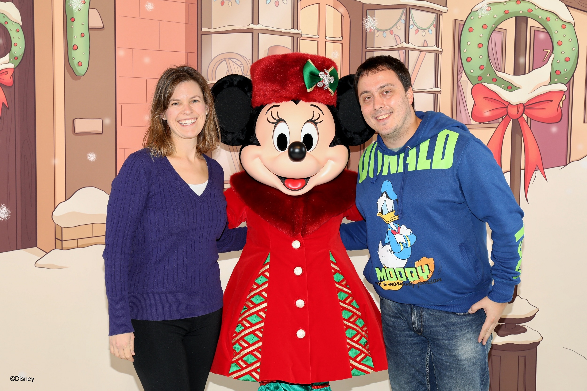 Disneyland Parijs - Kerst 2017 - Meet 'n Greet Minnie Mouse