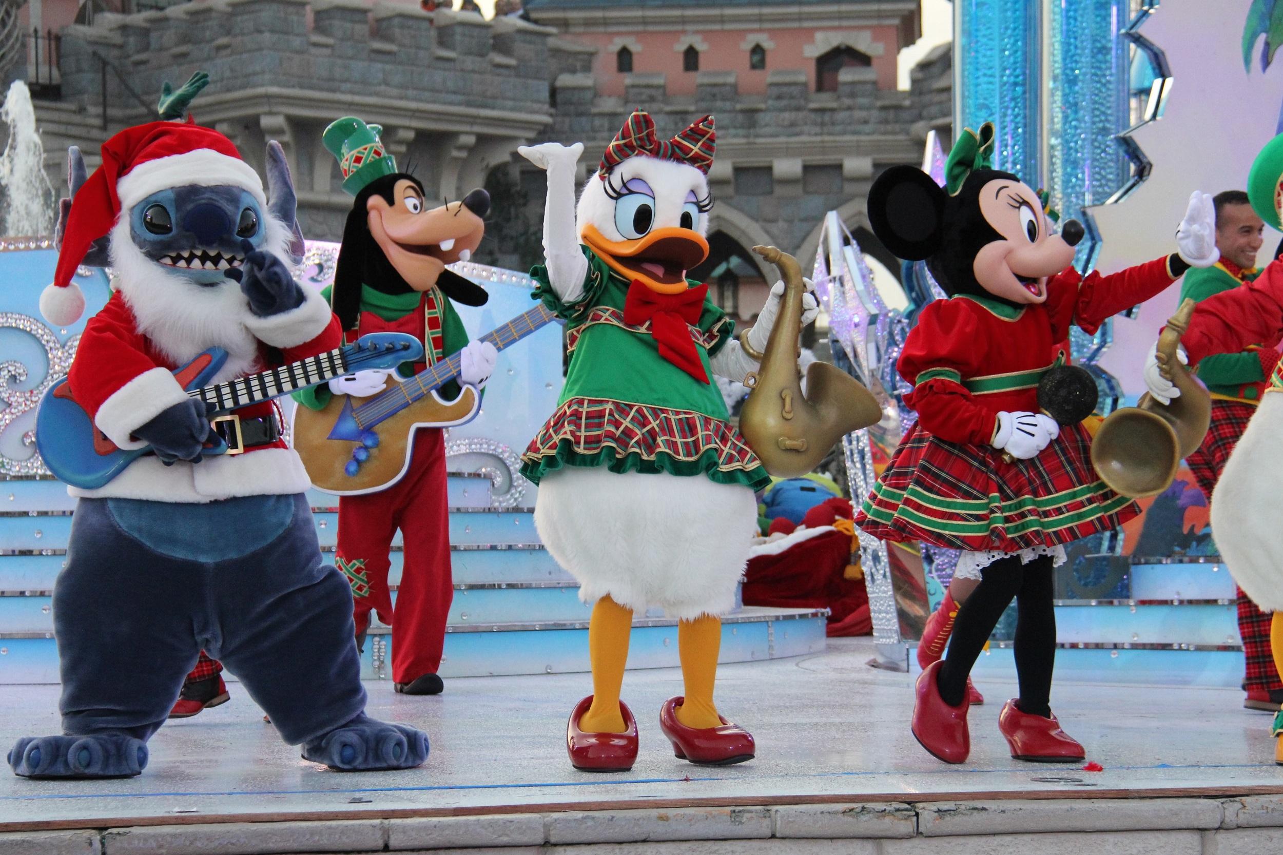 Disneyland Parijs Kerst 2017 - Merry Stitchmas
