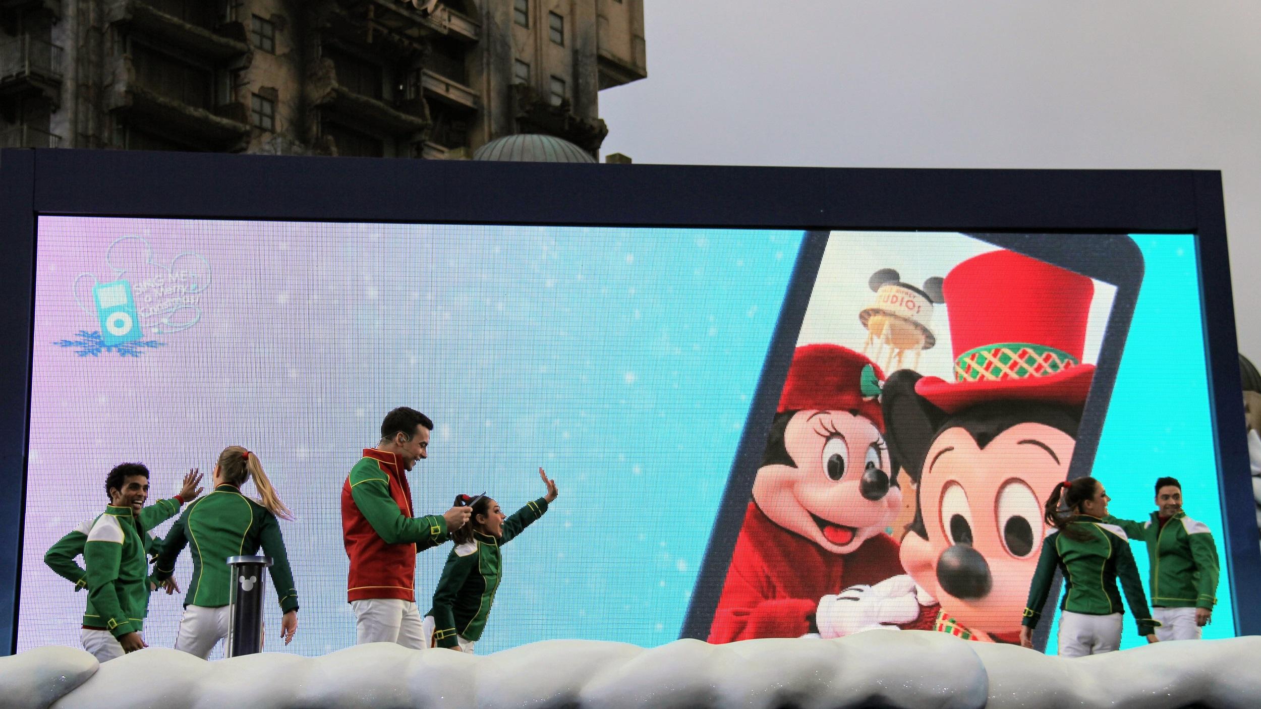 Disneyland Parijs - Kerst 2017 - Siing me a Merry Christmas