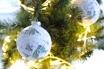 kerstballen beplakken