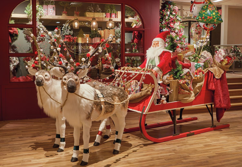 Klassieke kersttrend chique romantisch christmaholic
