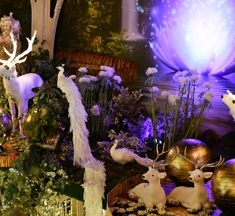 Intratuin Duiven: dansende kerstlichtjes & sprookjesachtige lelies