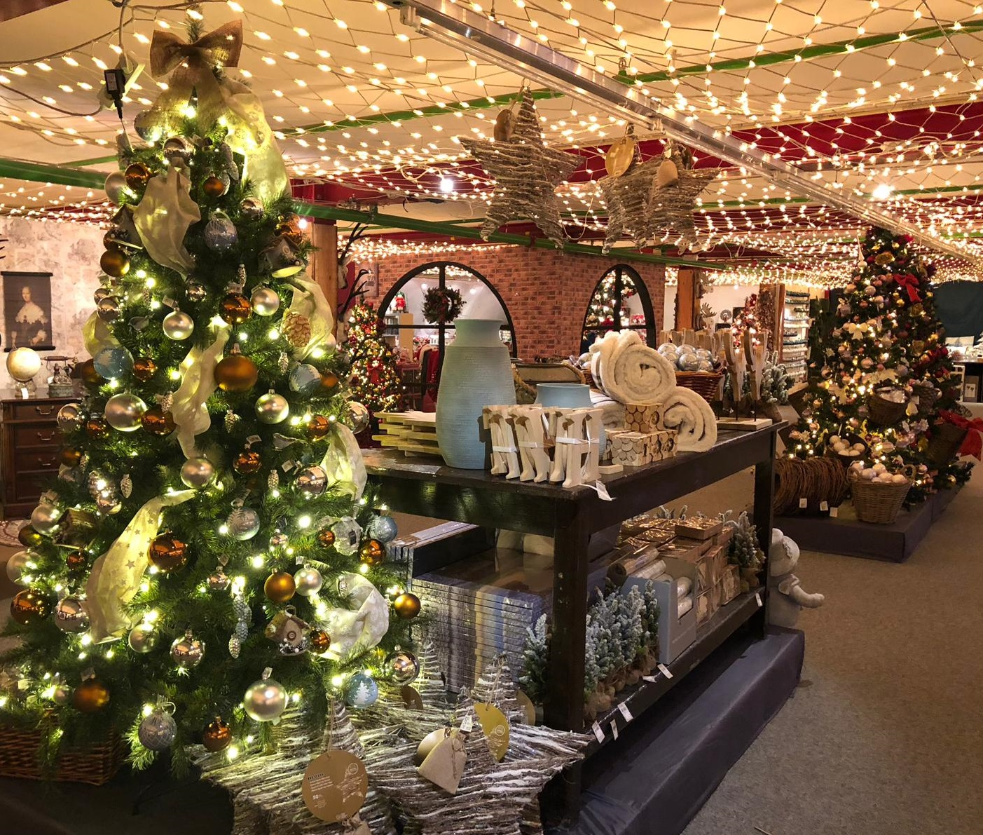 Kerstshow Kerstwereld Hendriks 2018: knus kerstshoppen