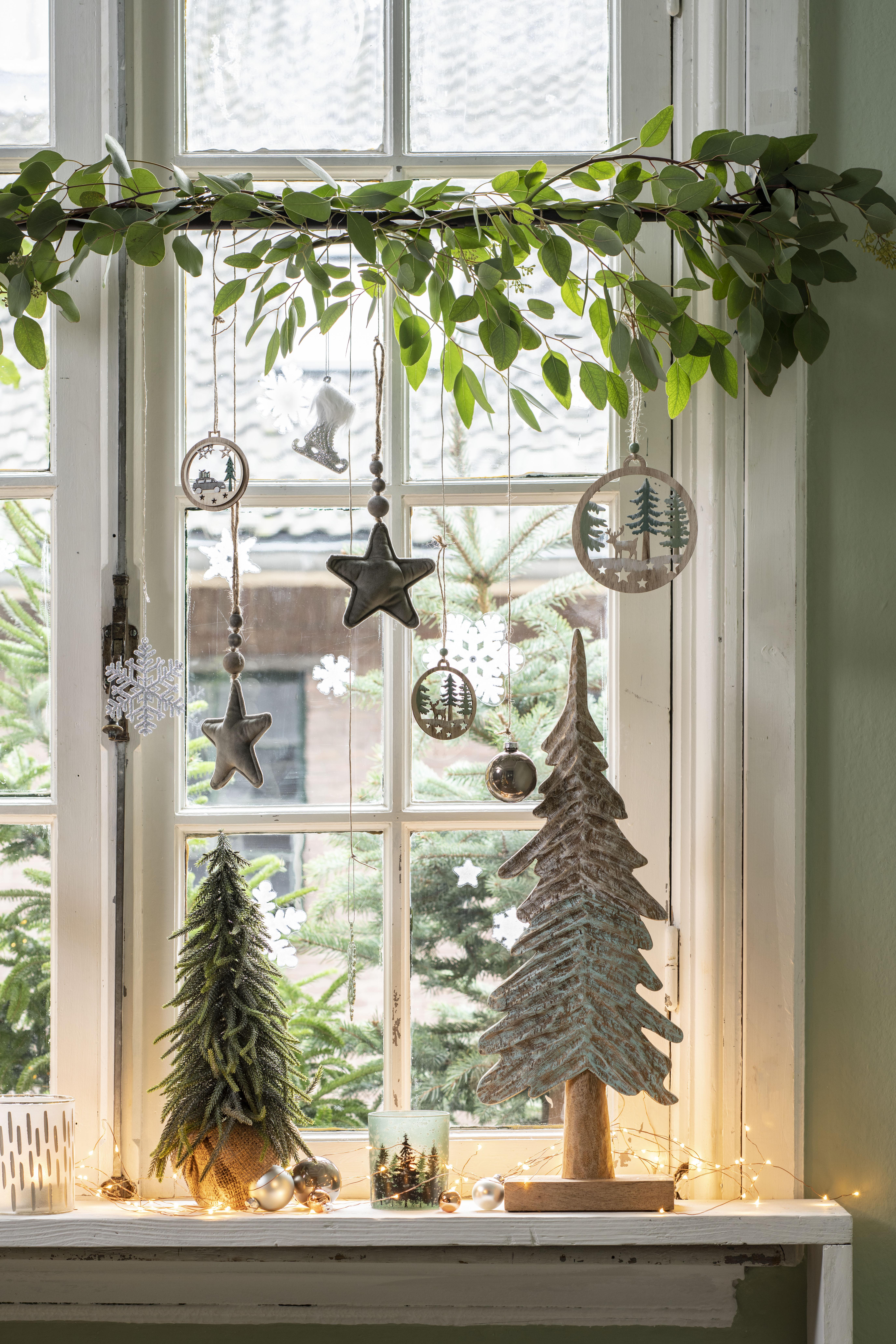 Keuken versieren voor kerst