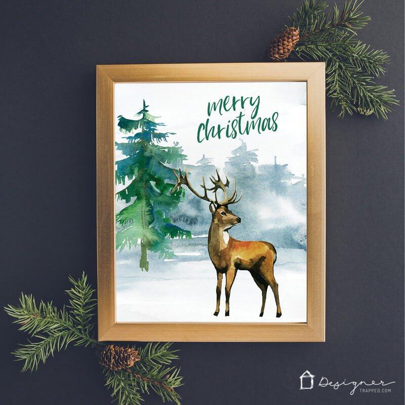 free printables voor kerst