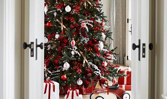 inspiratie opdoen 30 fotos van prachtig versierde kerstinterieurs