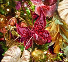 Kersttrends 2019 ☆ Red Velvet: fluweel, zijden bloemen & dierenprints