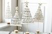 kerstboompjes van bladmuziek