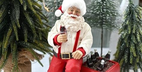 WIN! Een originele Coca-Cola kerstman + kerstballen