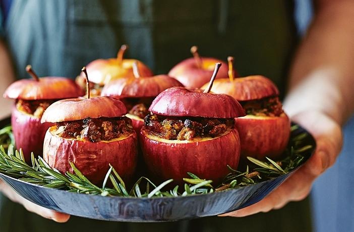 gevulde appels bijgerecht kerst