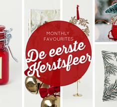 Monthly Favourites ~ De eerste kerstsfeer in huis