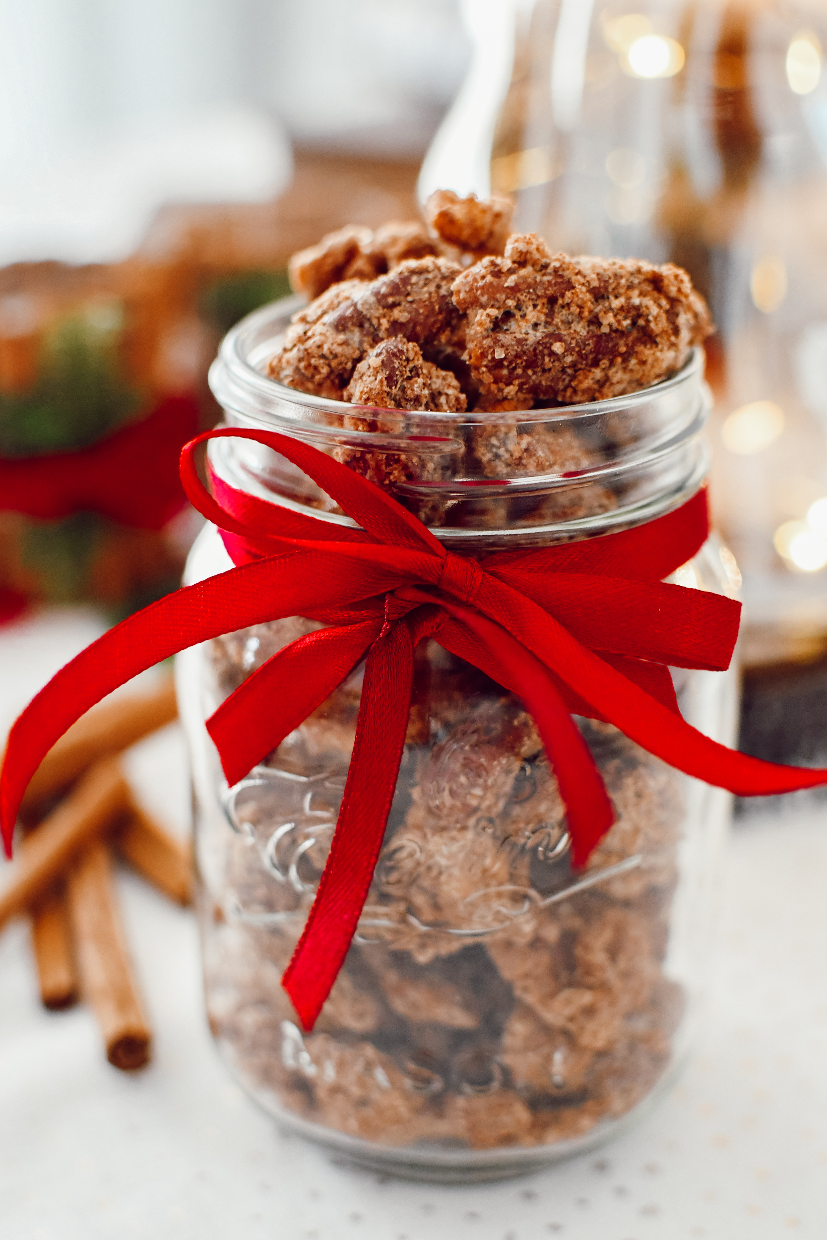 candied nuts - gesuikerde pecannoten