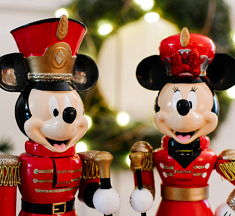 WIN! Mickey & Minnie marching band notenkrakers van Kurt S. Adler