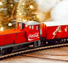 WIN! Coca-Cola kersttrein & spulletjes van My Village